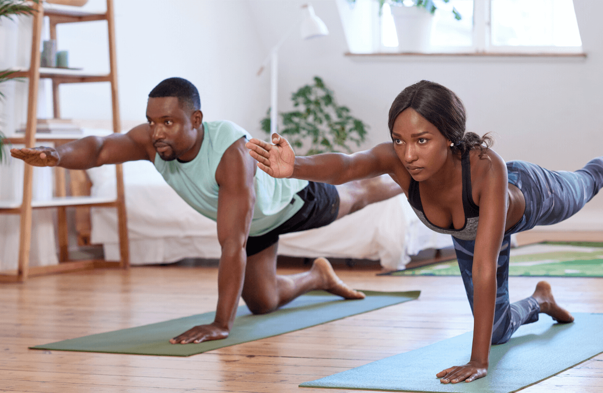 7 Workout Ideas for the Couple Who Sweats Together