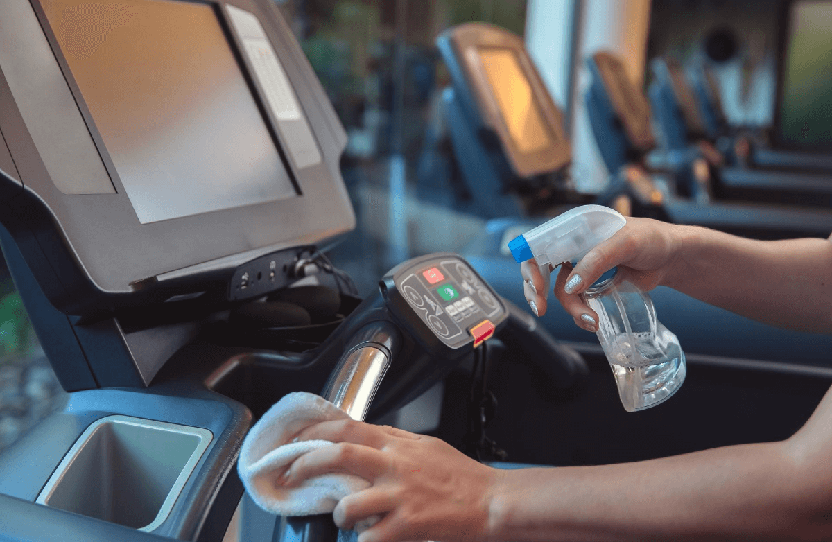 Stay Safe From Germs at the Gym With This Essential Checklist