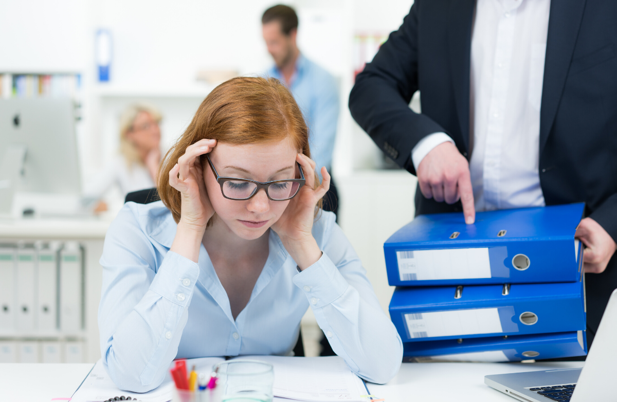 How to Gracefully Handle a Pushy Co-Worker