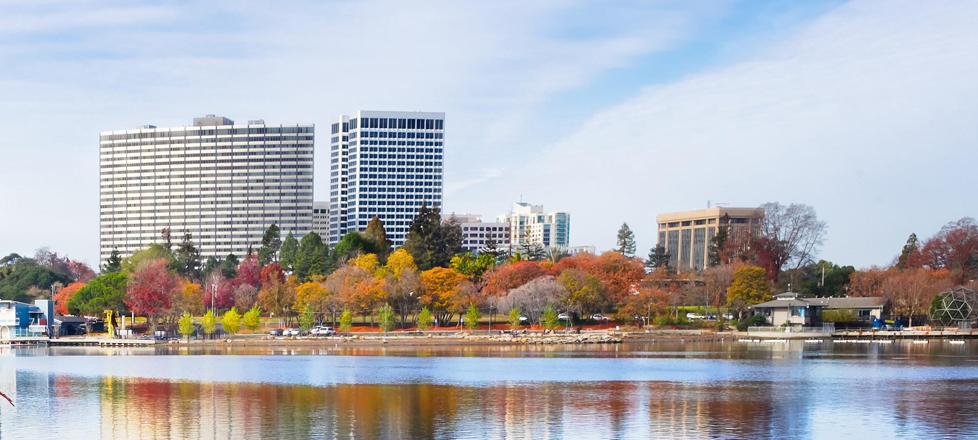 Oakland CA skyline