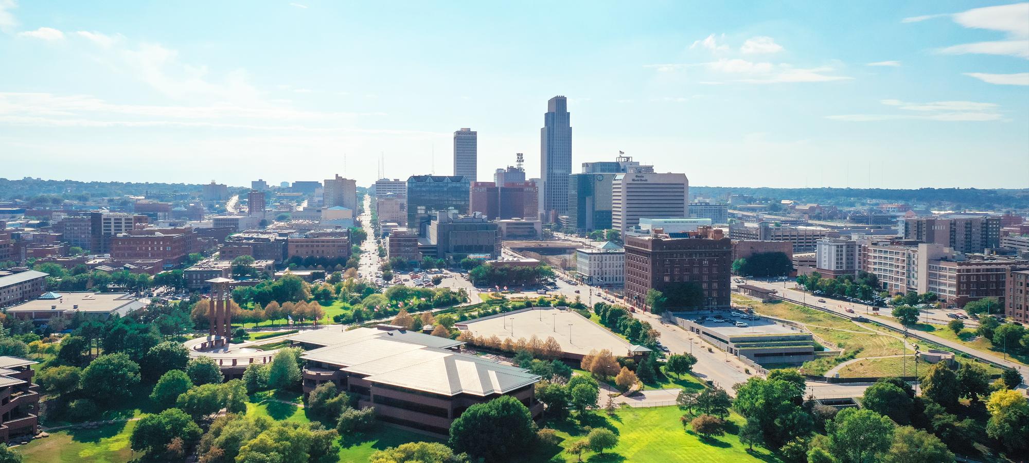 Omaha NE skyline