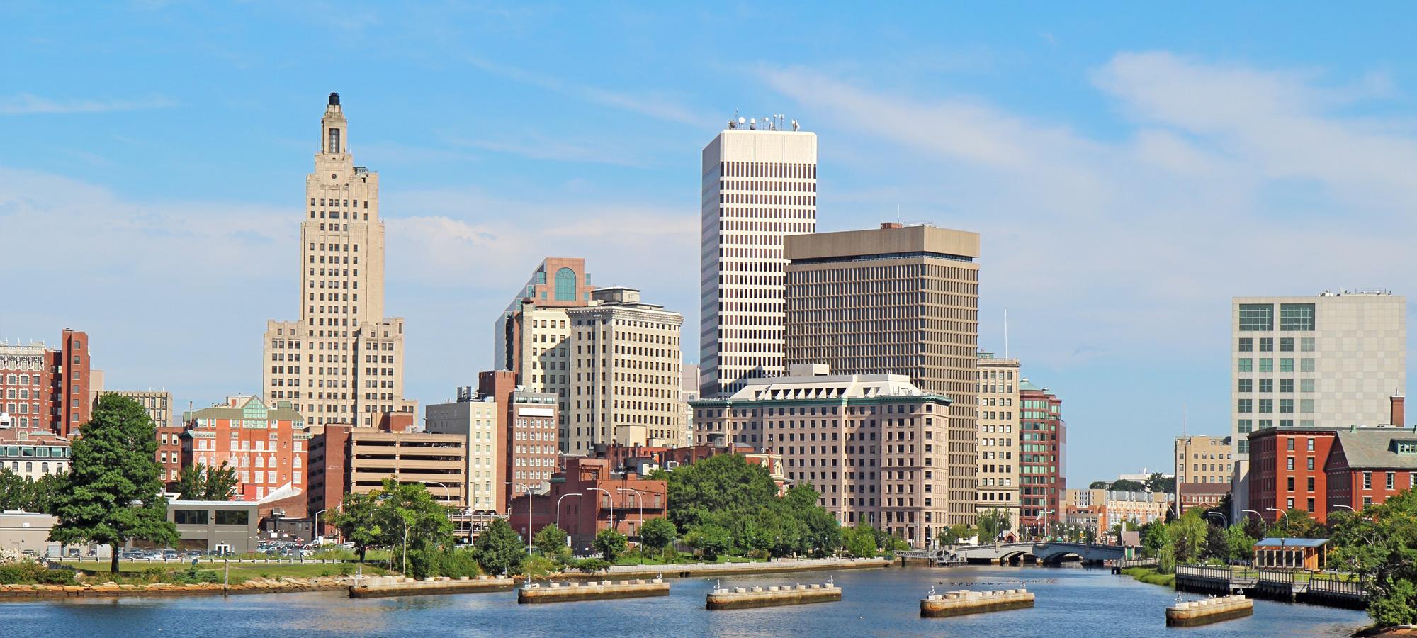 Providence RI skyline