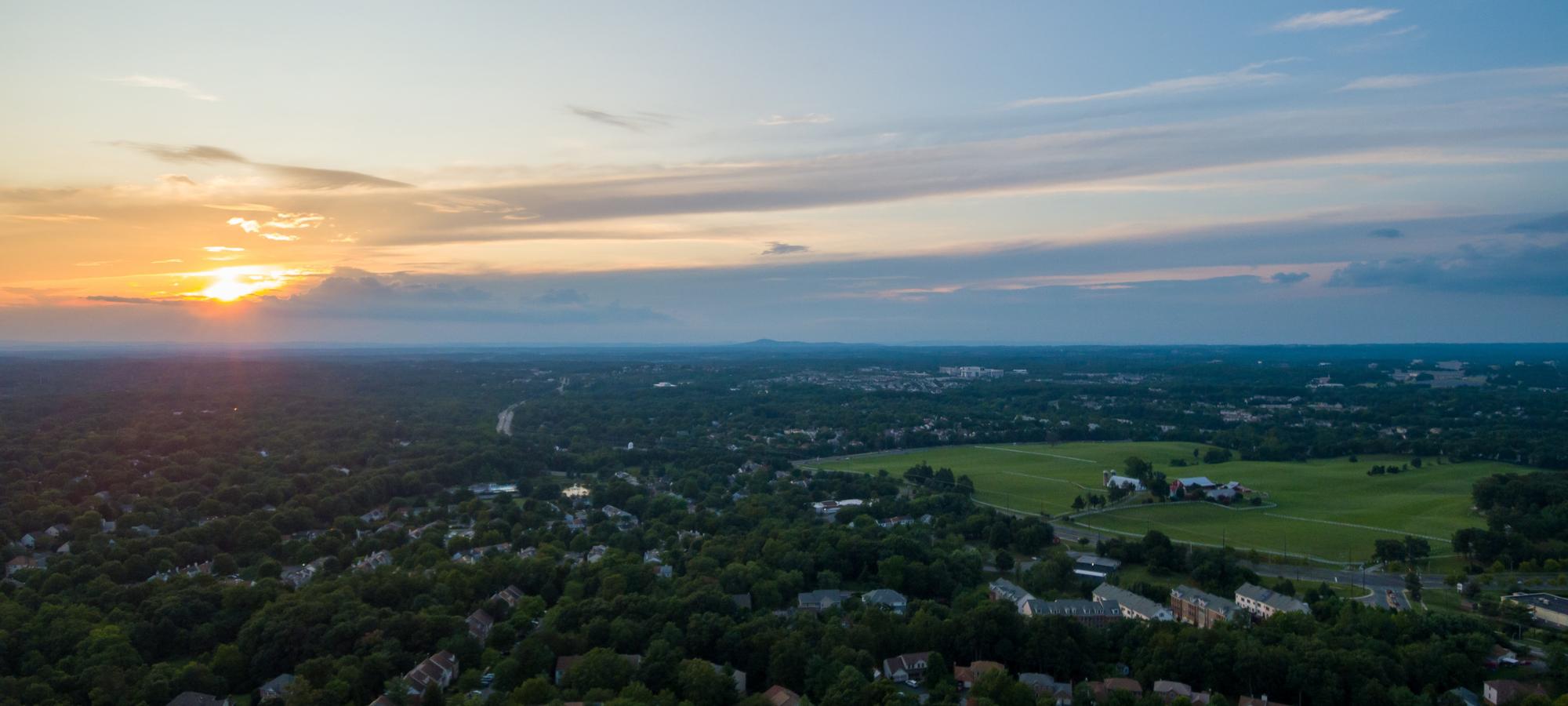 Gaithersburg MD skyline