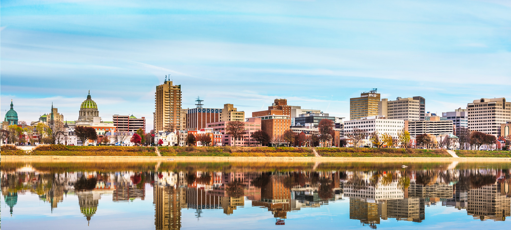 Harrisburg PA skyline