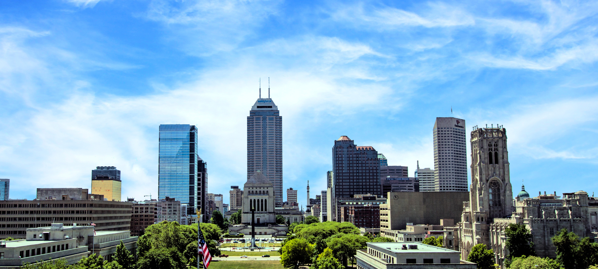 Indianapolis IN skyline