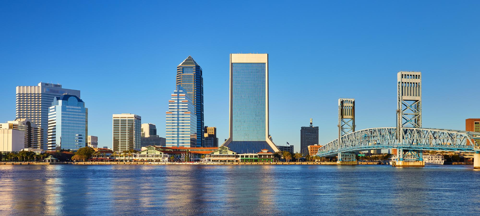 Jacksonville FL skyline