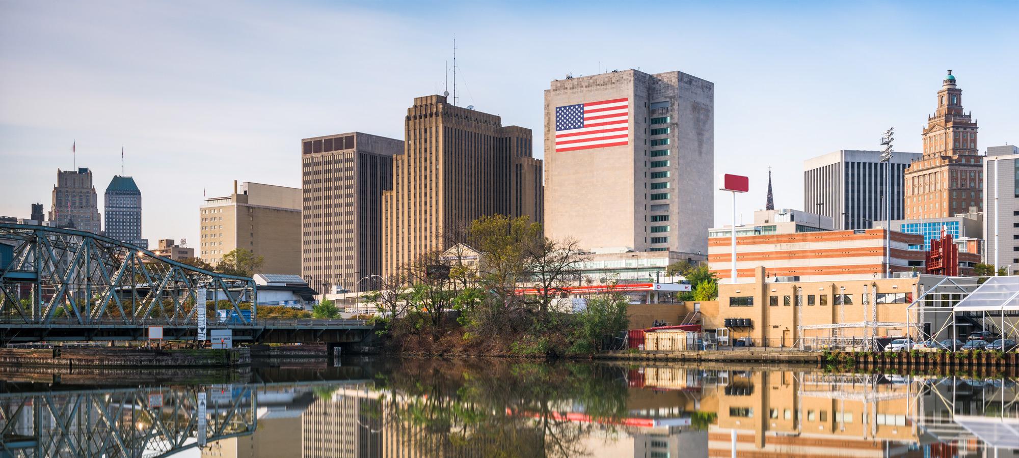 Newark NJ skyline