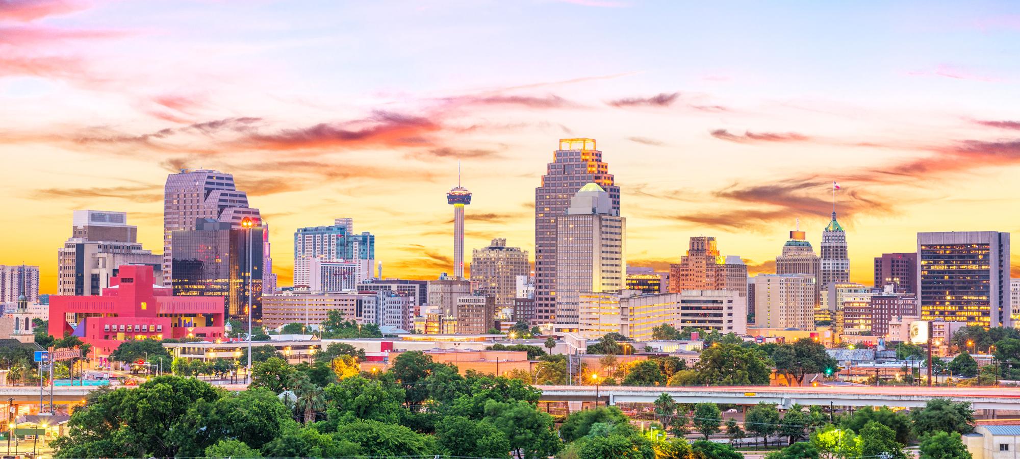 SanAntonio TX skyline