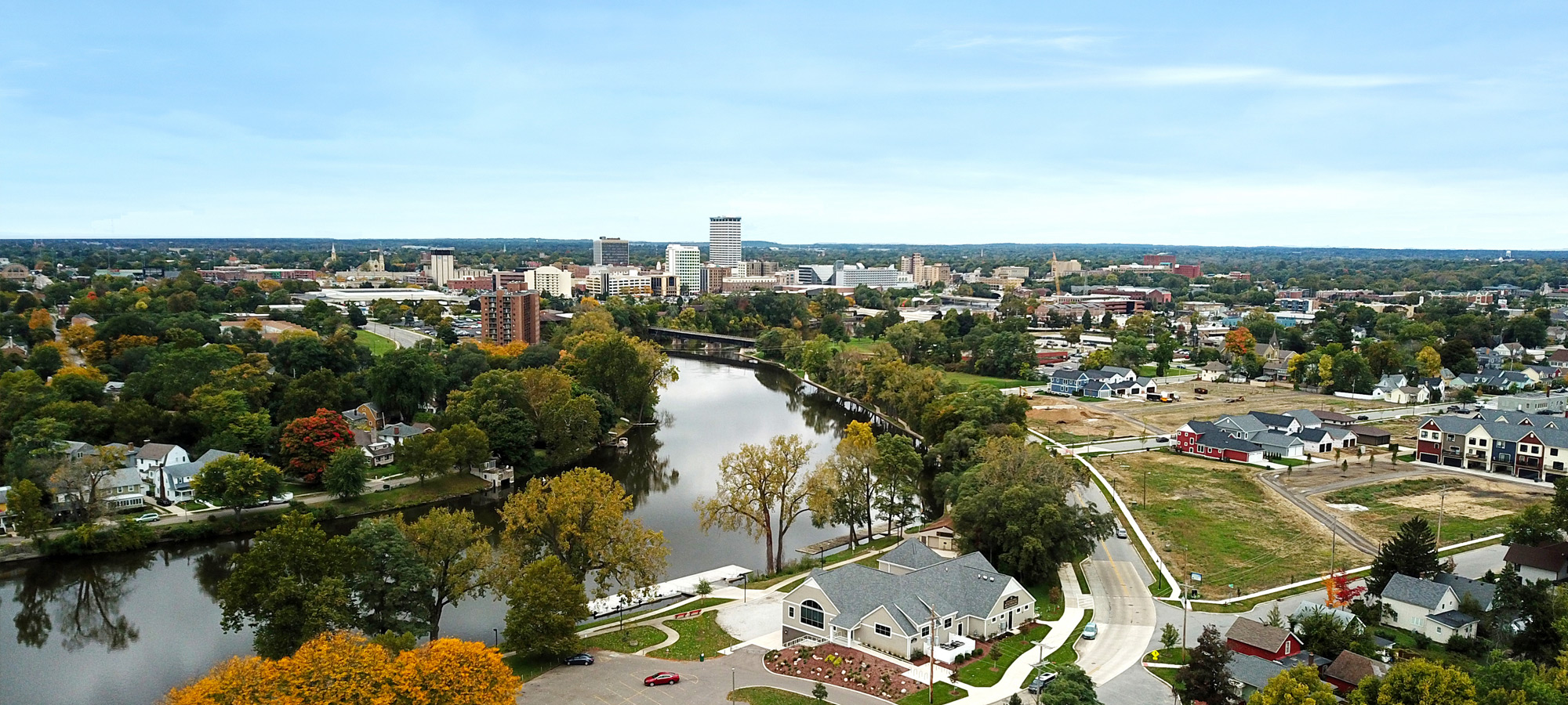 SouthBend IN skyline