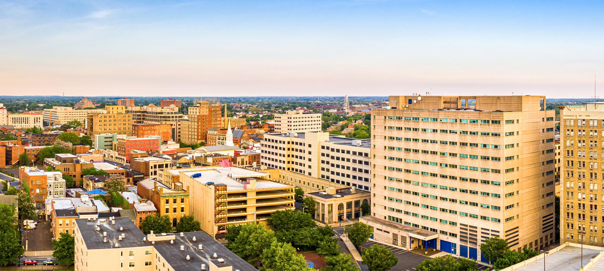 Trenton NJ skyline